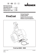 Open Wagner HVLP Fine Coat 9900 Manual