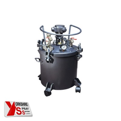 Yorkshire Spray Services Ltd - Q-Tech 10ltr Pressure Pot - Air Agitator
