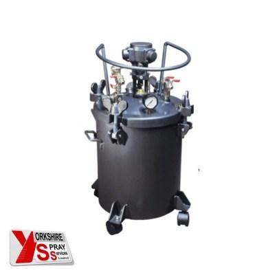 Yorkshire Spray Services Ltd - Q-Tech 20ltr Pressure Pot - Air Agitator