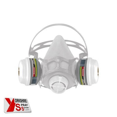 Yorkshire Spray Services Ltd - Honeywell ABEK1 P3 Mask Filter Complete