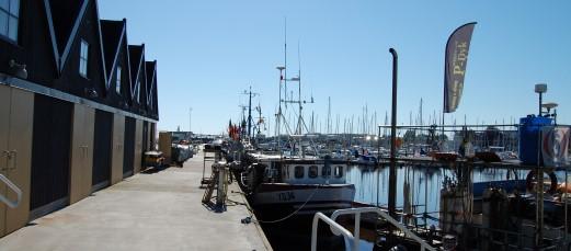 Fiskhamnen i Ystad