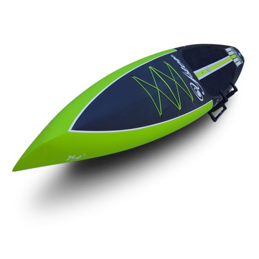 Yster SUP 14'x26 Naked Carbon - Nose