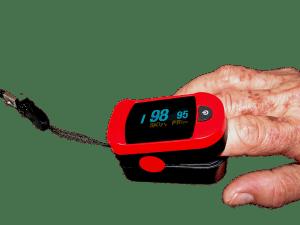 pulse oximeter for sleep apnead