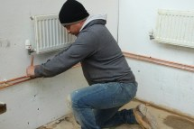 Plumbing course in action