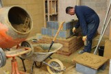 Learning bricklaying