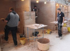 Learning plastering