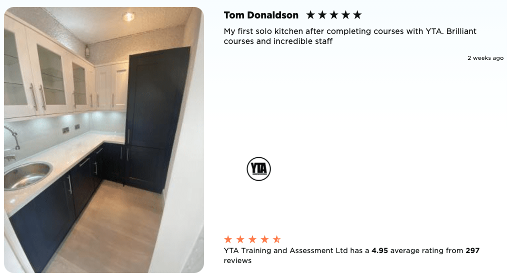 Tom Donaldson Kitchen Fitting Course review