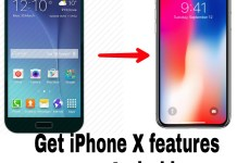 How to get iPhone X features on any Android device