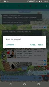How to Recall Sent Messages on WhatsApp Messenger