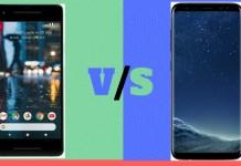 Google Pixel 2 vs Samsung Galaxy S8