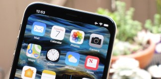Disappear iPhone X's Notch