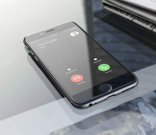 Fake Incoming Call on iPhone