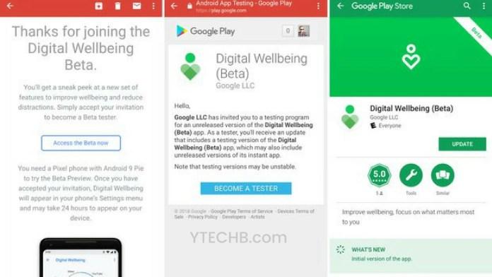 digital wellbeing apk
