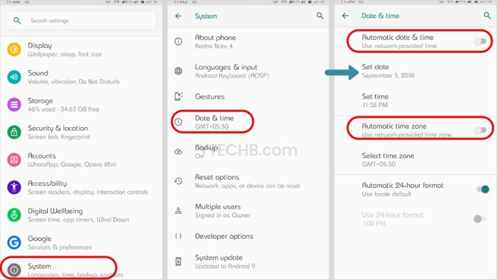 how to turn off developer mode in android