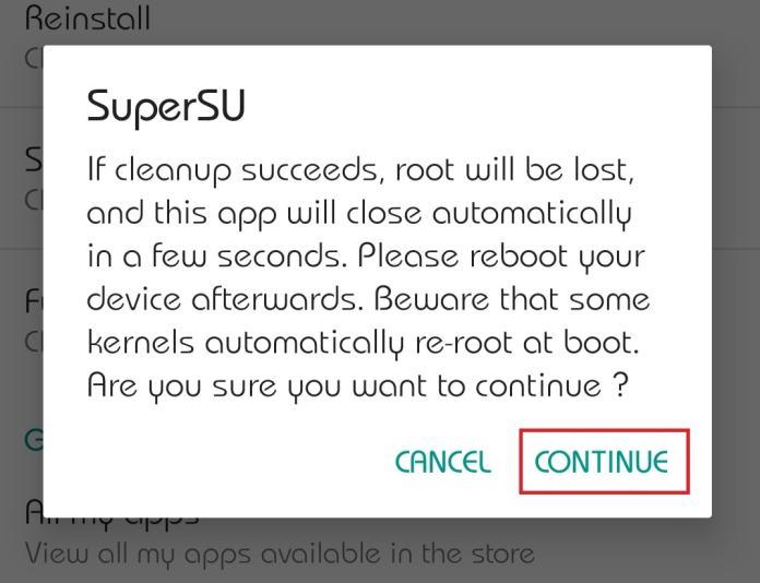 SuperSU Zip and App