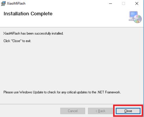 Install Mi Flash Tool