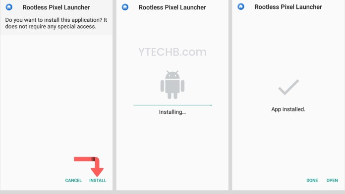 Download The all new Pixel 3 Launcher with New Search Bar YTECHB