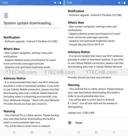 Update Nokia 6.1 Plus to Android Pie