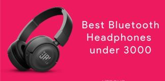 Best Bluetooth Headphones under 3000
