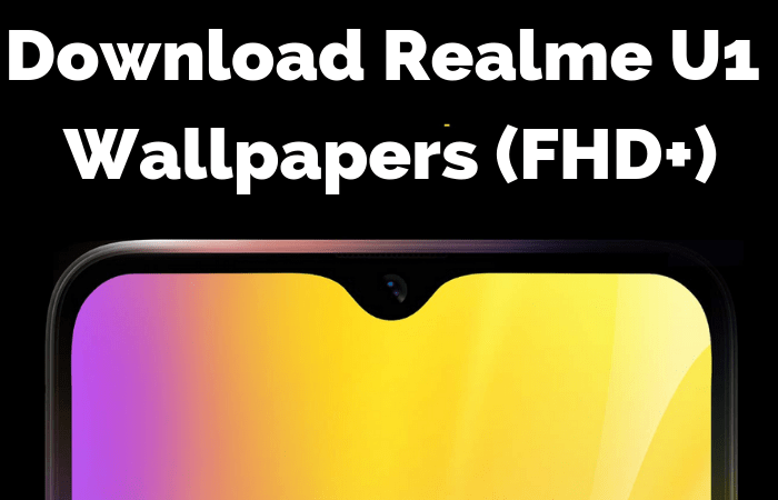 Download Realme U1 Stock Wallpapers FHD+ [1080x2248]