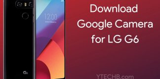 Download Google Camera 6.1 for LG G6