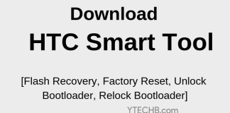 HTC Smart tool - flash tool