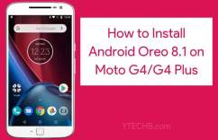 How to Install Android Oreo on Moto g4 plus