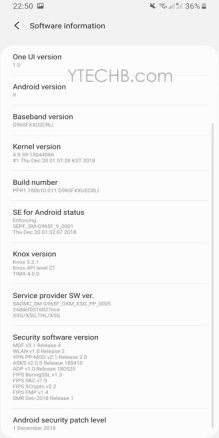 How to update S9 to android pie stable