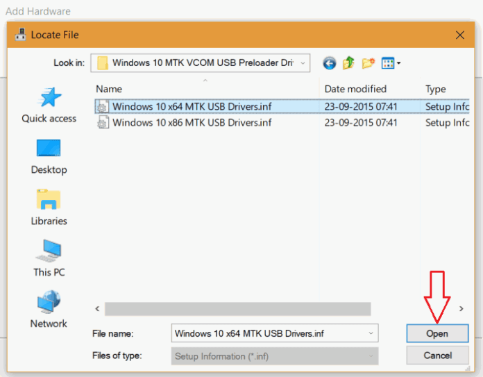 VCOM USB Drivers