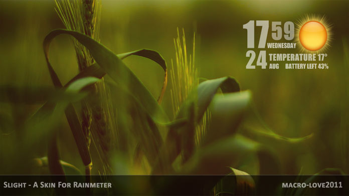 best rainmeter themes