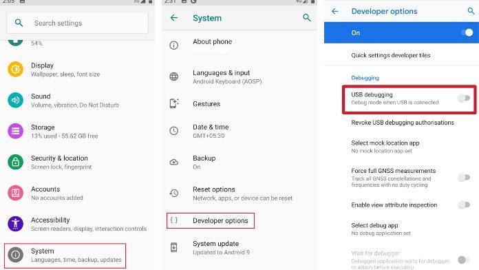 Unlock Bootloader on Asus Zenfone Max Pro M2