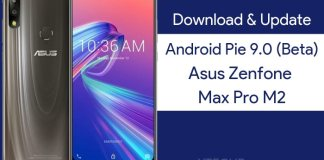 Asus Zenfone Max Pro M2 Android Pie Update