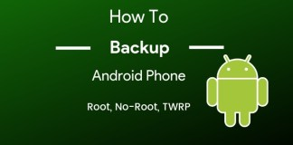 how to backup android phone completely