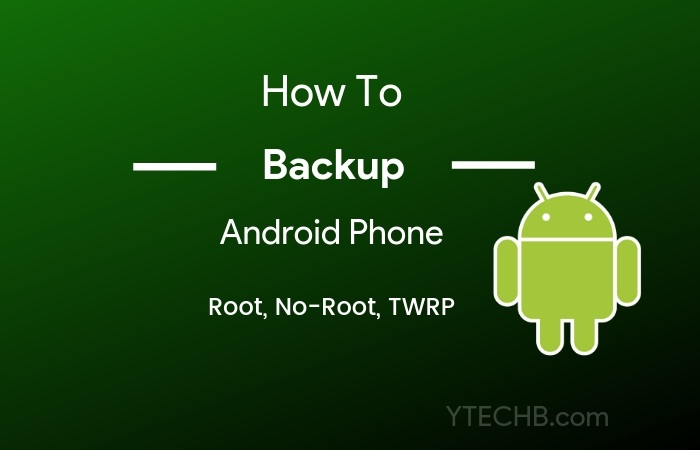 nandroid backup without root