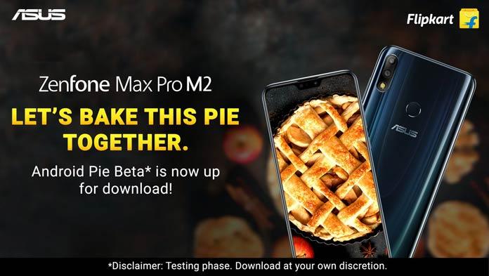 Asus Zenfone Max Pro M2 Android Pie Update
