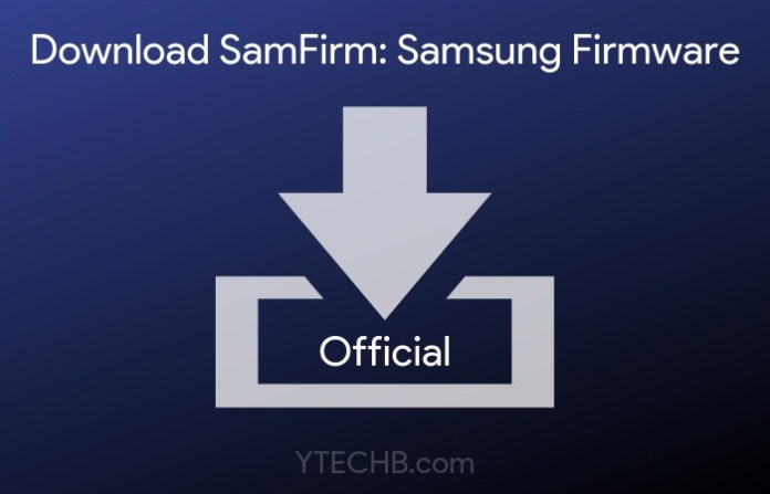 download samfirm tool