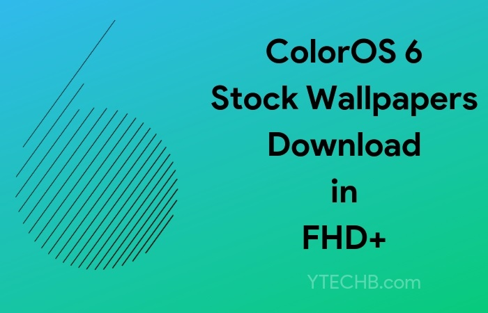 Download ColorOS 6 Stock Wallpapers in FHD+ [1080x2340]