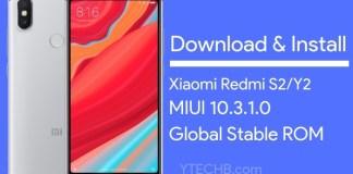 Redmi Y2 MIUI 10.3.1.0 Update