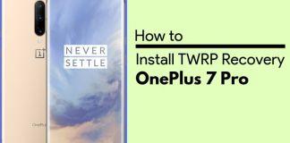 install twrp on oneplus 7 pro