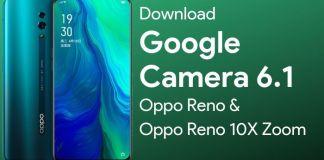Download Google Camera for Oppo Reno