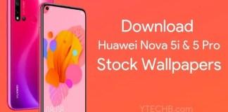 Huawei Nova 5 Pro Wallpapers