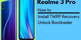how to install twrp on realme 3 pro