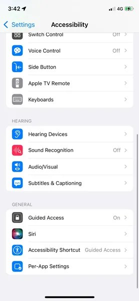 how to get background sounds on ios 15