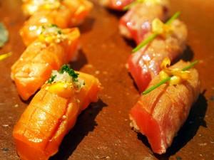 Sushi at Zuma London