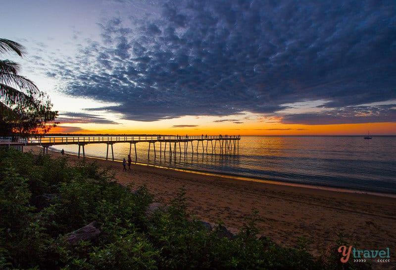 Sunset in Hervey Bay, Queensland, Australia