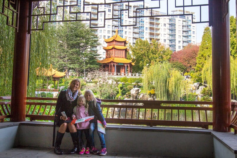 The Chinese Gardens of Friendship in Darling Harbour, Sydney