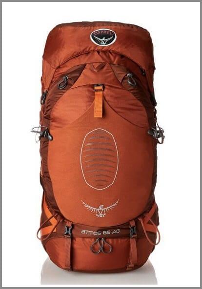 Osprey Men's Atmos 65 AG Backpack - one of the top 10 travel backpacks