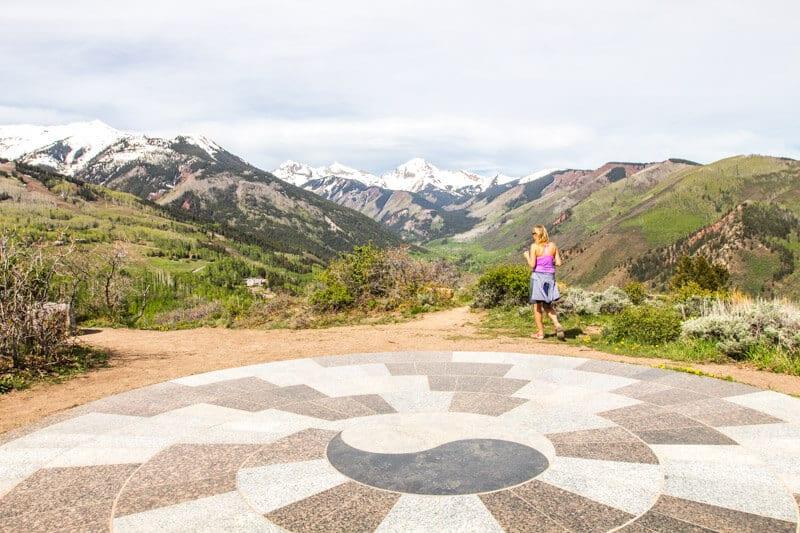 Views Yin Yang Lookout Snowmass Colorado
