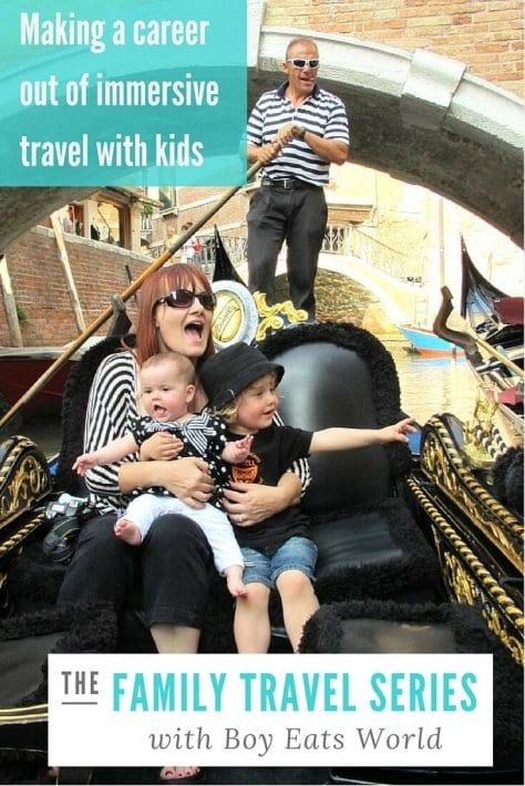 immersive travel career with kids