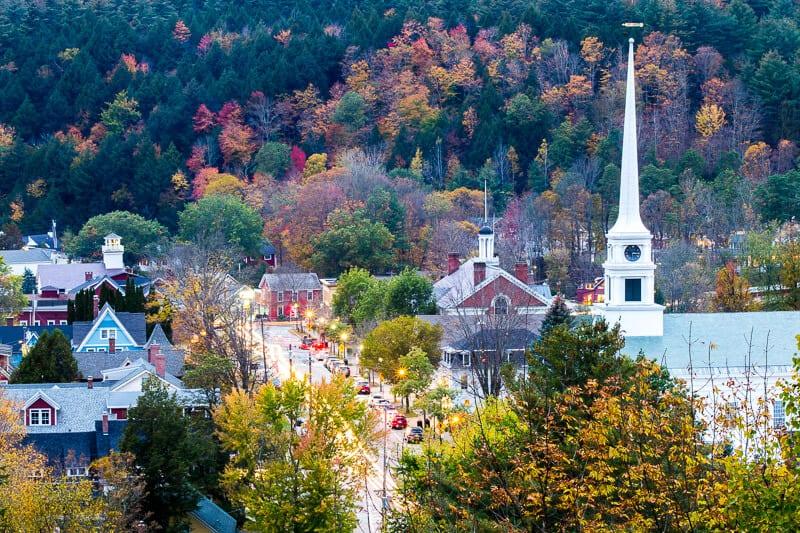 Sunset Rock, Vermont